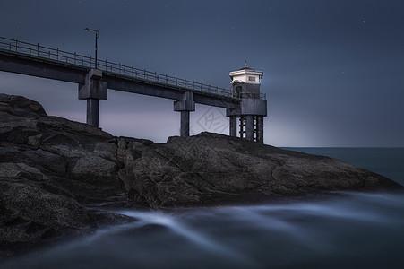 港湾之夜图片
