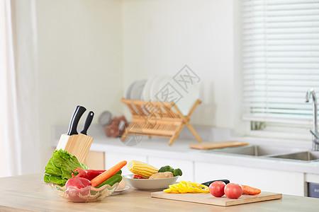 厨房场景图片