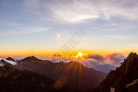 黄山自然风光图片