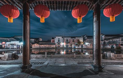 安徽宏村风光图片