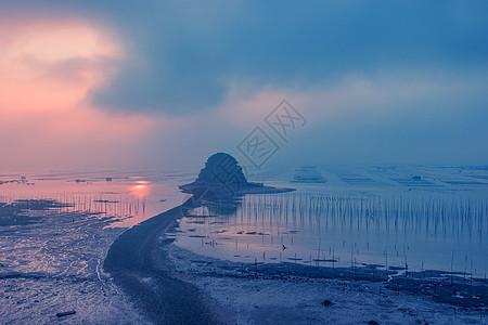 中国最美滩涂福建霞浦风光图片