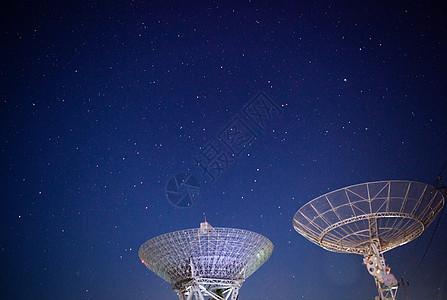 北京密云不老屯天文台星空图片