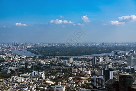 曼谷首都天使之城湄南河图片
