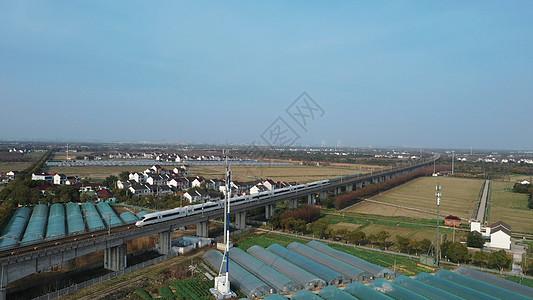 沪杭高铁线图片