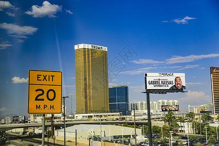 美国赌城拉斯维加斯特朗普国际酒店图片