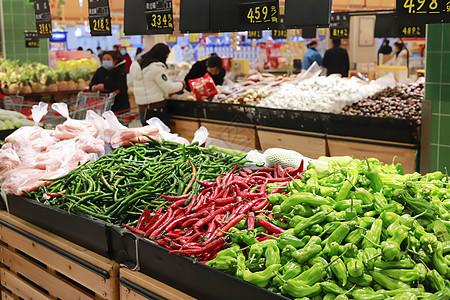 生鲜商超水果与应季蔬菜图片