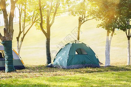 野外帐篷露营图片
