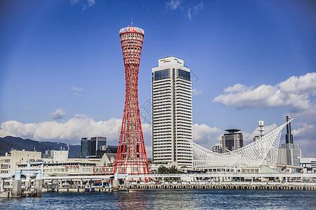 神户城市风光图片