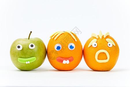 愚人节创意水果组合图片