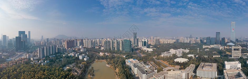 深圳南山区城市全景长片图片