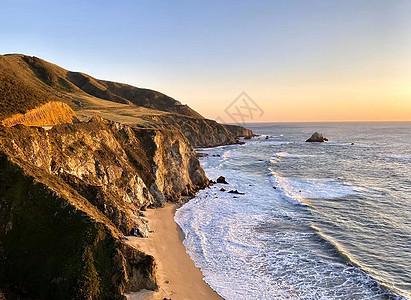 加州一号公路大苏尔路段风景图片