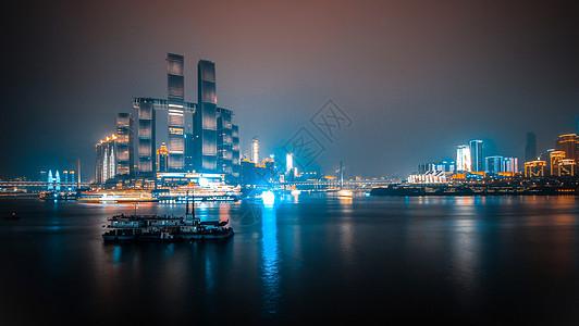 重庆城市风光天际线图片
