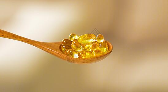 鱼肝油胶囊保健品图片