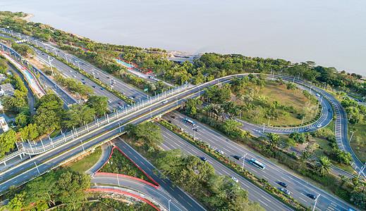 深圳深湾立交桥图片