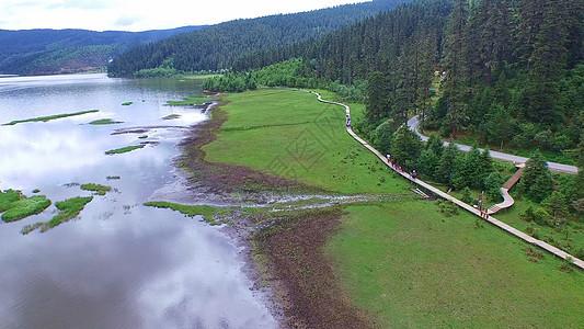 普达措国家公园风景图图片