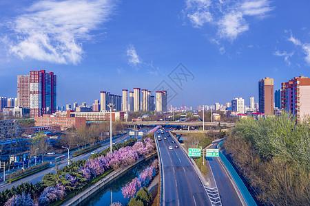石家庄北二环运河立交桥图片