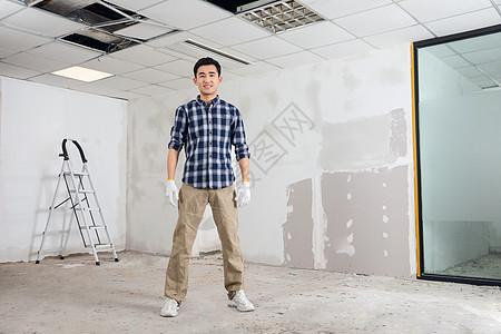 建筑工人形象图片