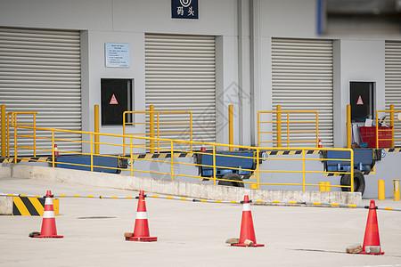 工厂物流运输码头图片