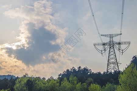 高压铁塔图片