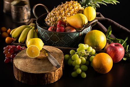 新鲜水果静物摄影图片