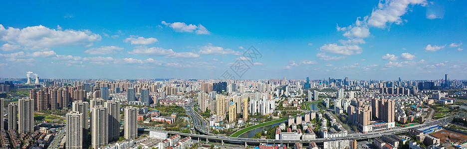 合肥蜀山城市超广全景接片图片