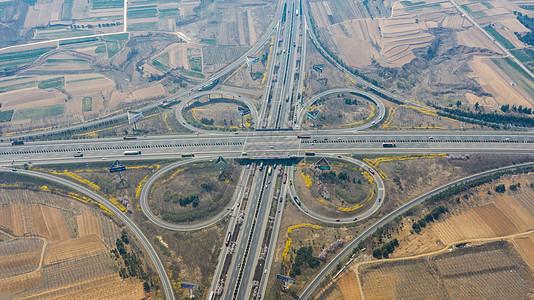 城市交通高速公路枢纽立交桥图片