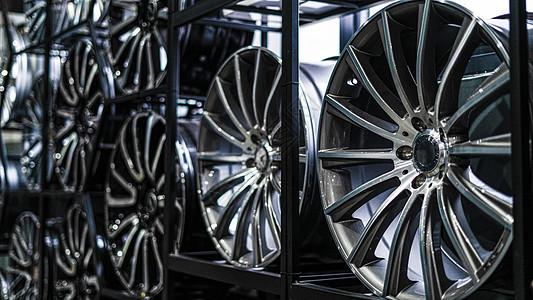 汽车轮毂图片