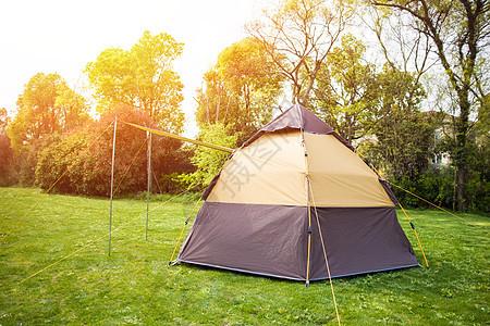 户外帐篷露营图片