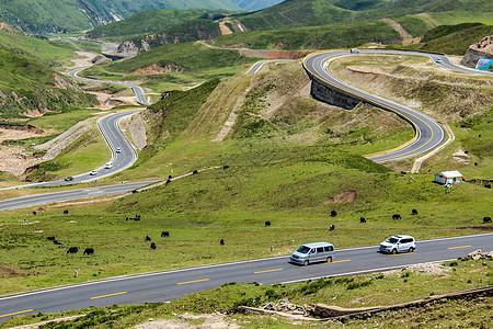 中国最美公路G227图片