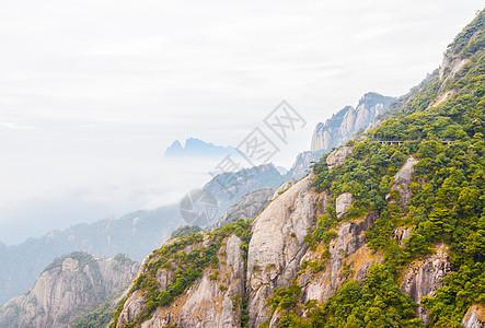 江西三清山云雾图片