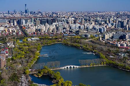 春天的玉渊潭公园图片