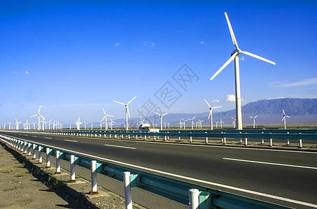 大板城风电场图片