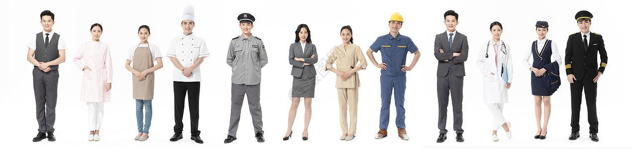 青年男女职业形象图片