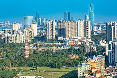广东省广州市海珠区赤岗塔等建筑群图片
