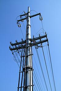 高压电线塔图片