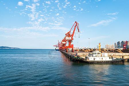 漳州港码头图片
