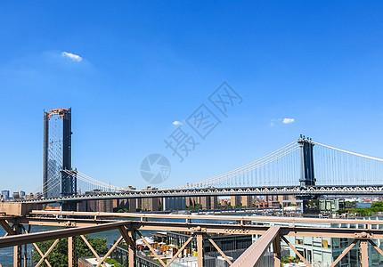 纽约曼哈顿大桥图片