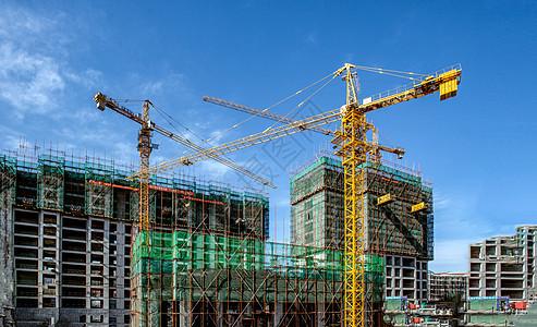 建筑工程复产复工图片