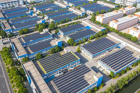 工厂太阳能系统图片