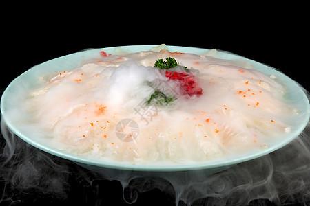 龙利鱼火锅食材摄影图片