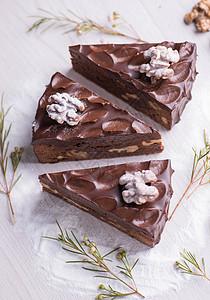 巧克力蛋糕甜品图片