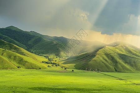 呼伦贝尔大草原风景图片