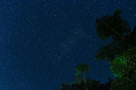 夏威夷大岛星空图片
