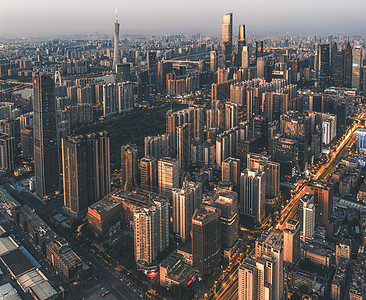 广州天河区cbd风光图片
