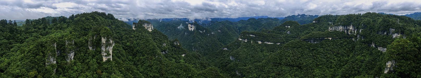 世界自然遗产贵州施秉云台山航拍摄影图片图片