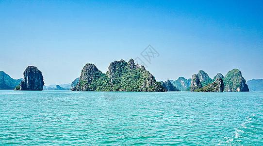 越南海上桂林下龙湾图片