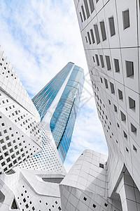 著名设计地标建筑南京保利大剧院科技感建筑线条图片
