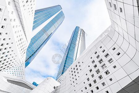 著名设计地标建筑南京保利大剧院科技感建筑图片