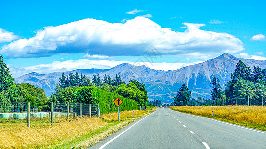 新西兰自驾公路图片