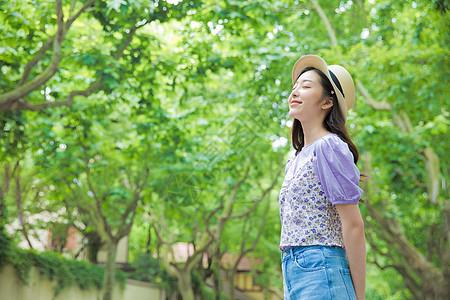 夏日小清新美女图片
